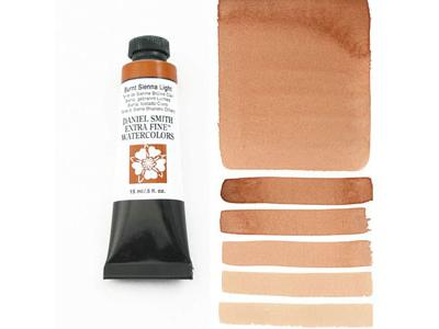 DANIEL SMITH S1 WATERCOLOUR 15ML 230 BURNT SIENNA LIGHT 2