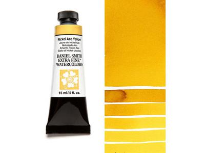 DANIEL SMITH S2 WATERCOLOUR 15ML 061 NICKEL AZO YELLOW 2