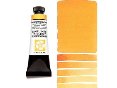 DANIEL SMITH S2 WATERCOLOUR 15ML 133 PERMANENT YELLOW DEEP 2