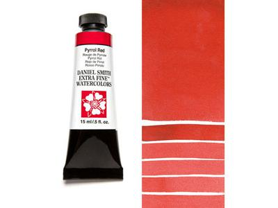 DANIEL SMITH S3 WATERCOLOUR 15ML 084 PYRROL RED 2