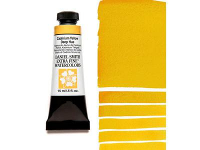 DANIEL SMITH S3 WATERCOLOUR 15ML 221 CADMIUM YELW DEEP HUE 2