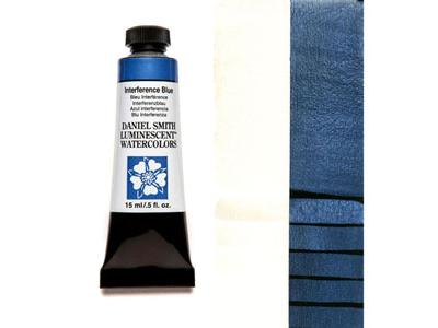 DANIEL SMITH S1 LUMINESCENT 15ML 001 INTERFERENCE BLUE 2