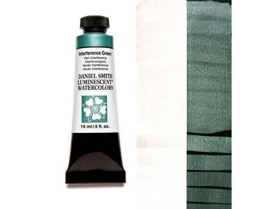 DANIEL SMITH S1 LUMINESCENT 15ML 004 INTERFERENCE GREEN 2