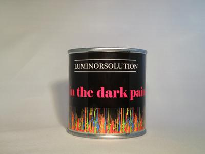GLOW IN THE DARK ACRYLVERF 250GR. ROOD 2