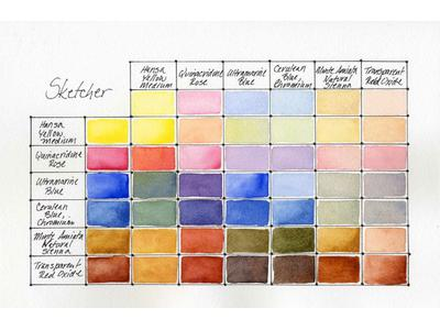 DANIEL SMITH SKETCHER AQUAREL SET 3