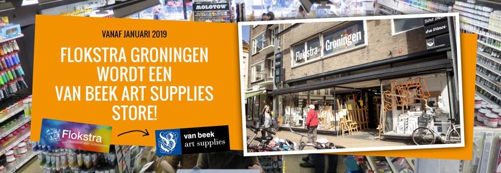 Van Beek Art Supplies Kunstenaarsbenodigdheden Tegen